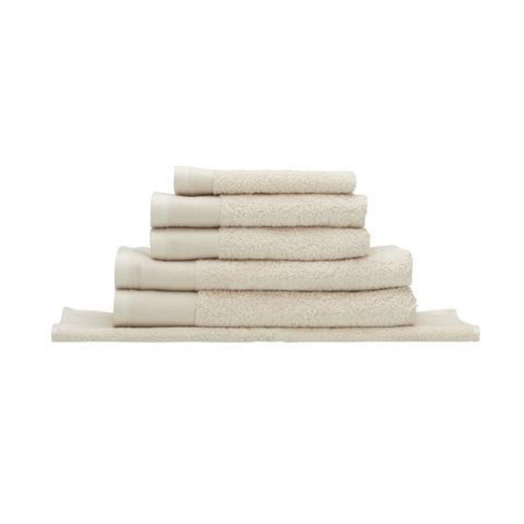 Seneca - Vida Organic Towels, Face Clothes, Hand Towels, Bath Mats - Sand image 0