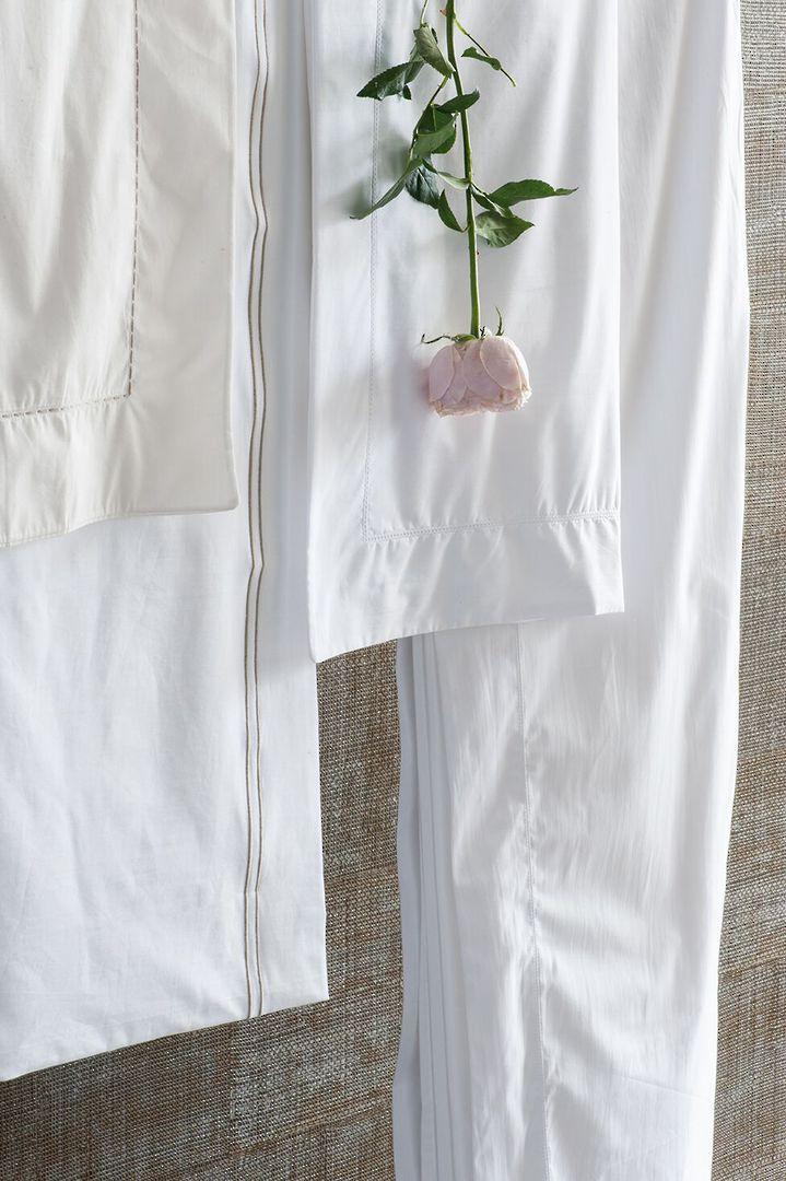Bianca Lorenne - Ajour Sheets / Pillowcase Oxford - Ivory image 1