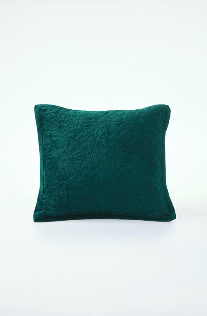 MM Linen - Naja Deep Teal Cushions image 0