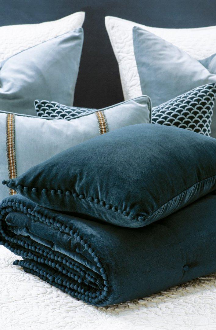 Bianca Lorenne - Mateo Comforter/ Eurocase /Cushion - Prussian Blue image 0