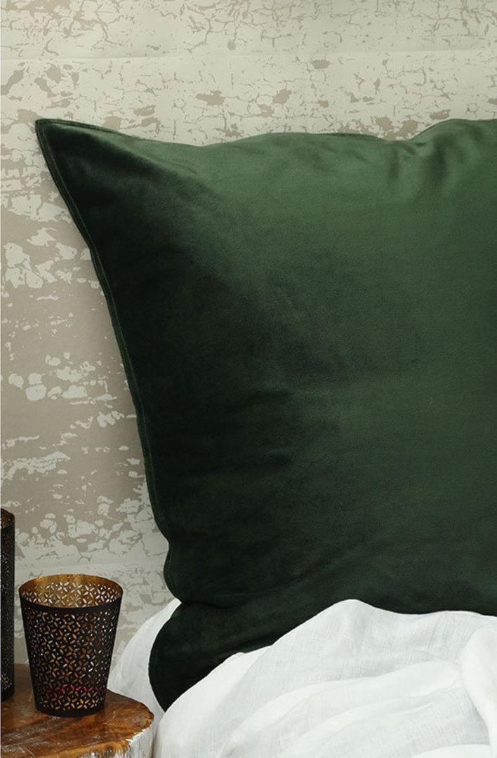 MM Linen - Velvet Duvet Cover Set- Forest image 1