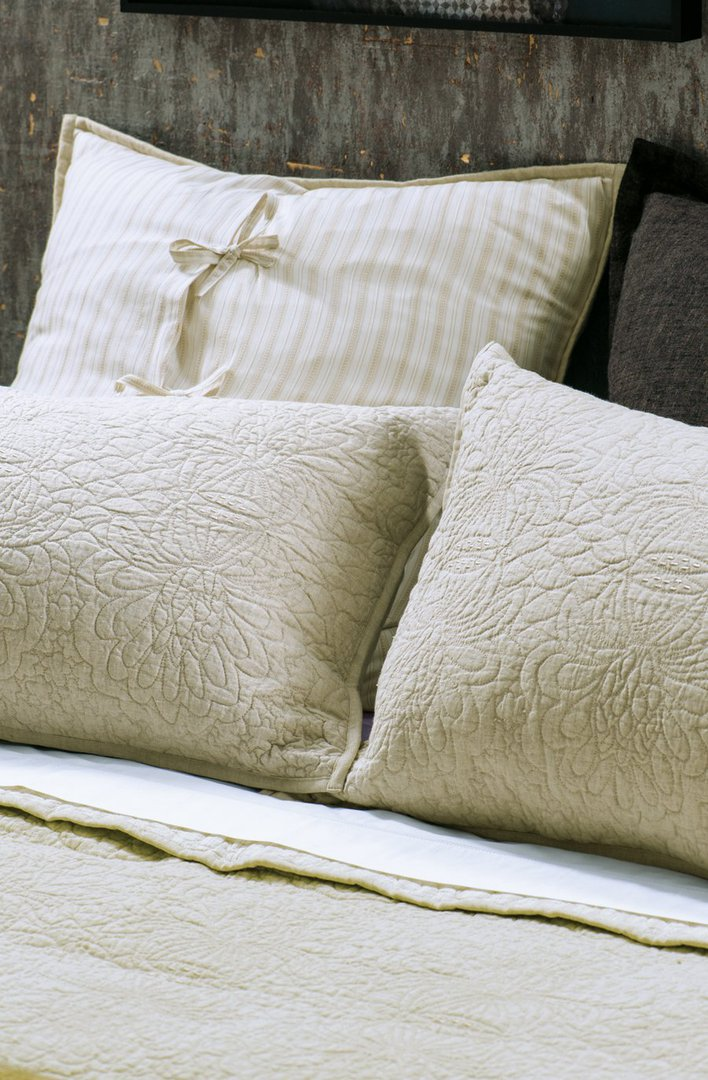 Bianca Lorenne - Fontanella - Bedspread - Pillowcase and Eurocase Sold Separately - Natural Linen image 2