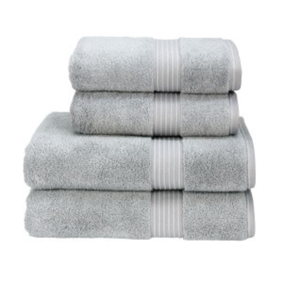 Seneca - Christy Supreme Hygro Towels, Hand Towels & Face Cloths - Silver image 0