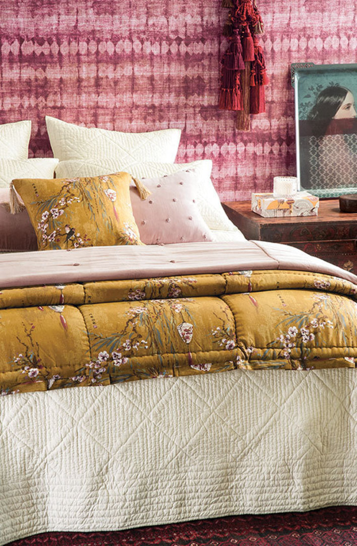 Bianca Lorenne - Hoshi Ivory Bedspread / Pillowcase/Eurocase image 0