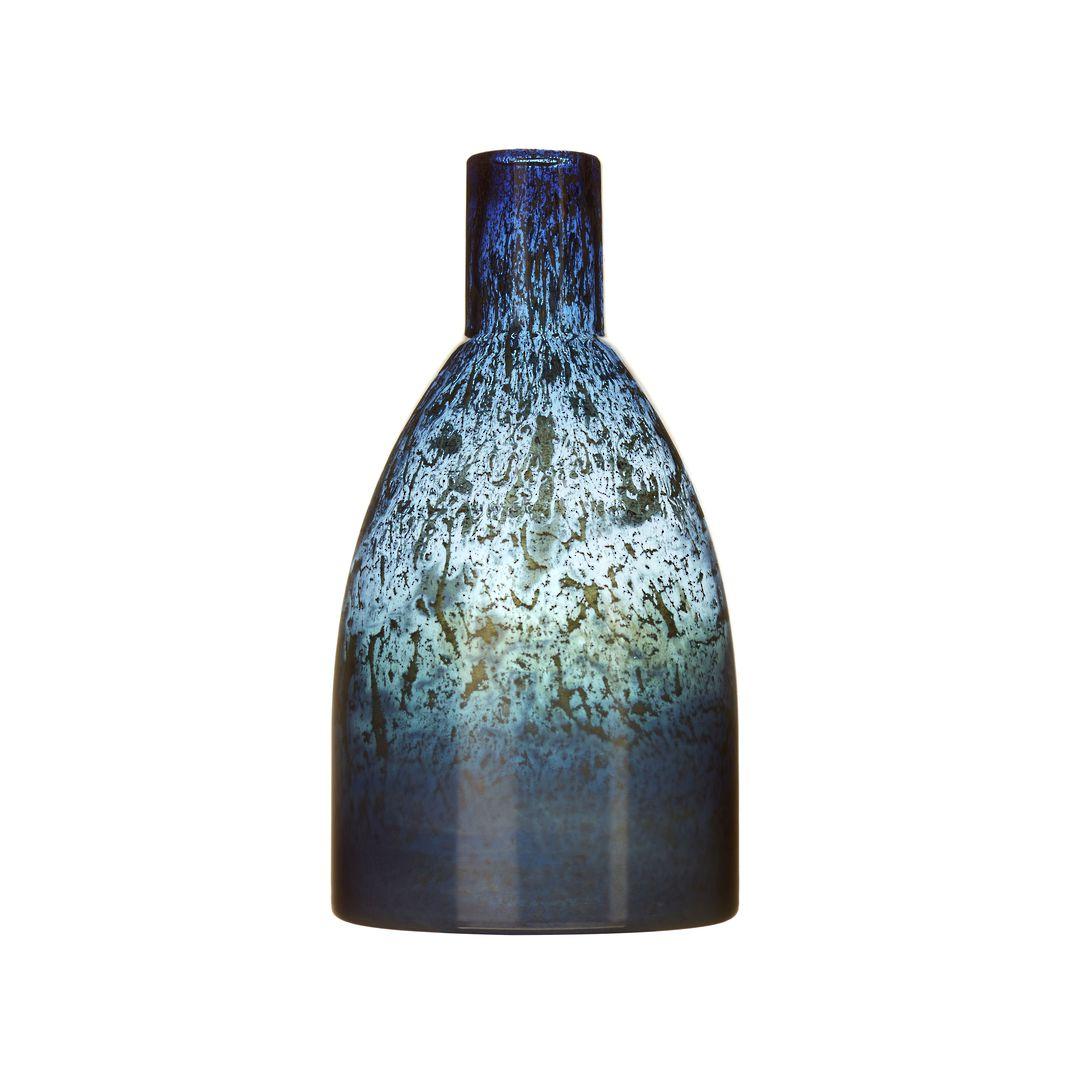 Importico - Voyage Maison Glass - Thalassa Medium Vessel - Sapphire image 0