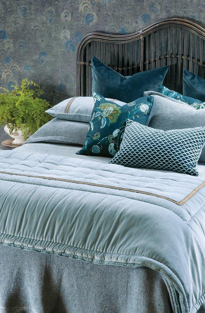 Bianca Lorenne - Sottobosco Bedspread / Pillowcase/Eurocase - Indigo image 1