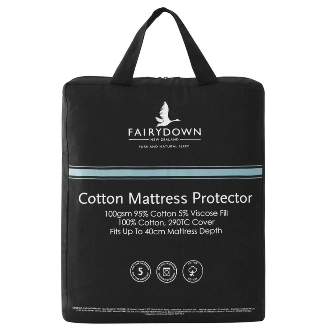 Fairydown - All Natural Cotton Mattress Protector image 0