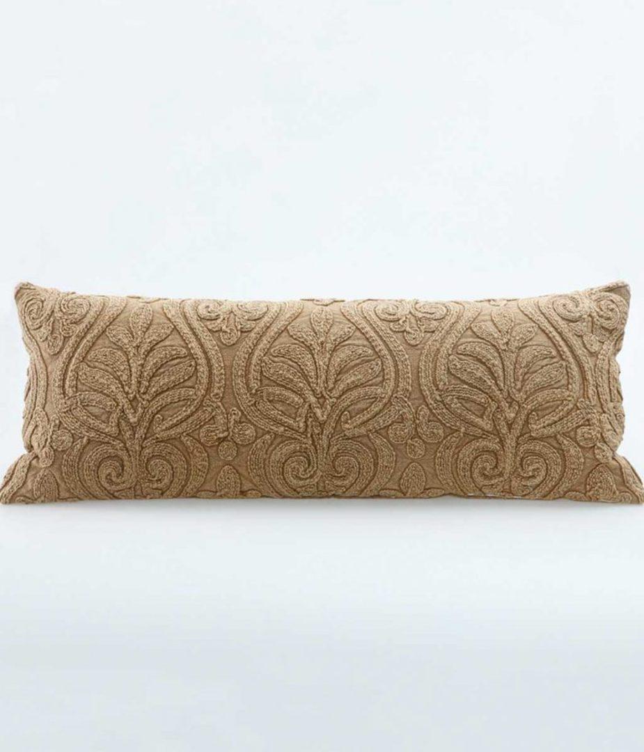 MM Linen - Malta Cushion - Chestnut image 0