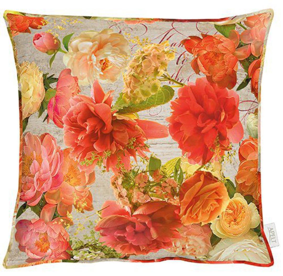 Importico - Apelt - Jardin Orange Cushion image 0