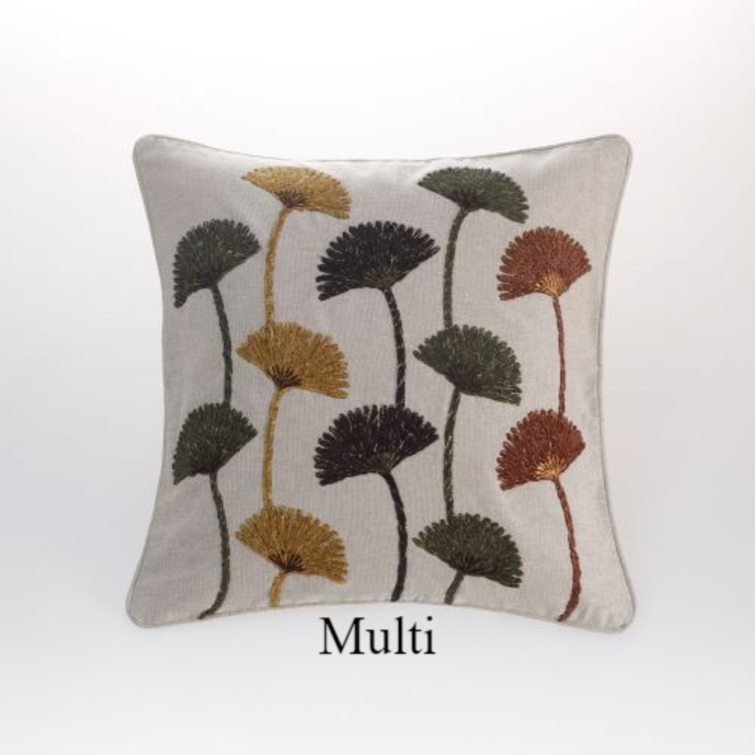 MM Linen - Ammi Cushion - Multi image 0