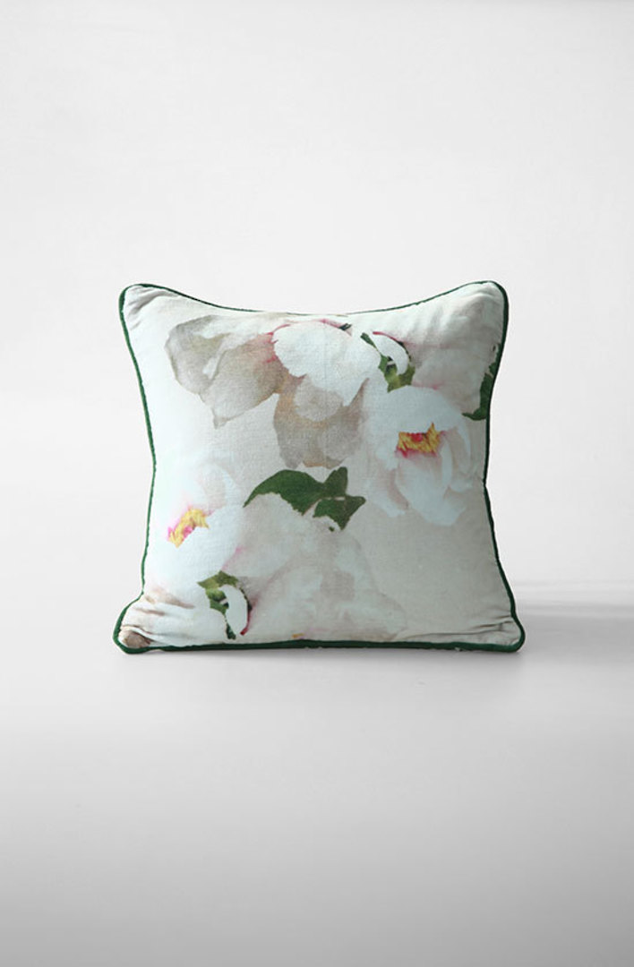 MM Linen - Blush Velvet Cushion image 0