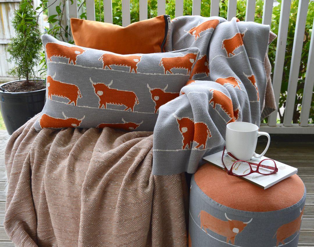Importico -Voyage Maison - Folklore - Dougal Knitted Cushion image 0