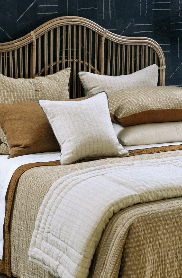 Bianca Lorenne - Misaka- Bedspread - Pillowcase and Eurocase Sold Separately - Dark Ochre image 1