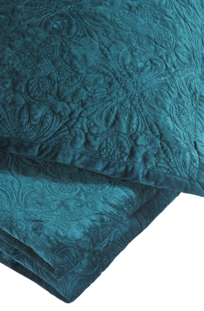 MM Linen Naja Deep Teal King Bedspread Set image 1