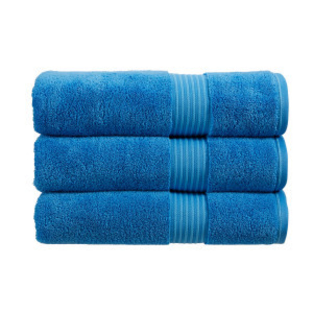 Seneca - Christy Supreme Hygro Towels, Hand Towels & Face Cloths - Cadet Blue image 0