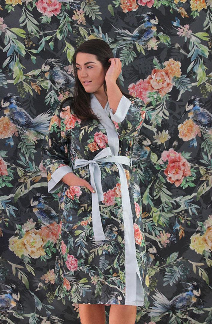 MM Linen - Kiku Kimono Robe image 0