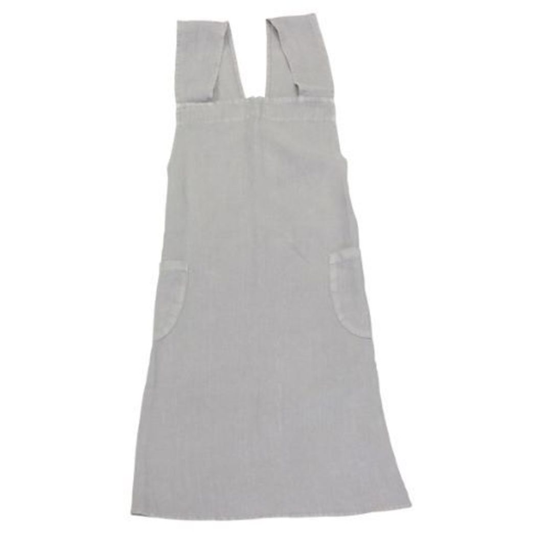 French Country - Aprons Cross Back - Grey, Navy, Pale Blue, Natural image 0