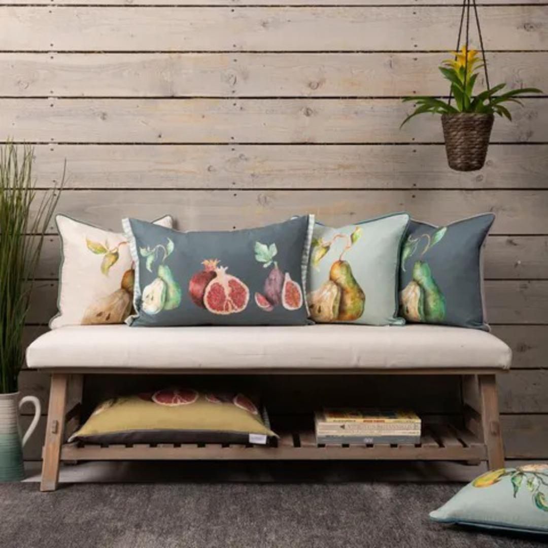 Importico -Voyage Maison - Pear Cushion - Slate image 1