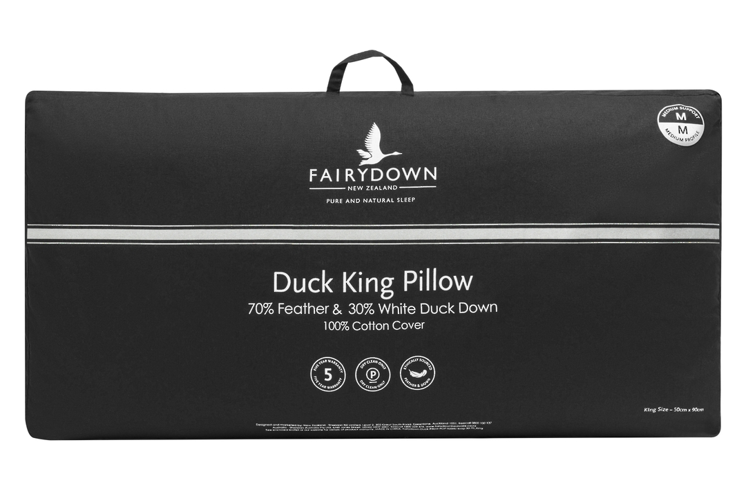 Fairydown  - Duck  Feather & Down - King - Pillow 70/30 image 0