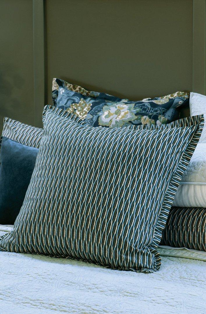 Bianca Lorenne - Kumo - Coverlet/Eurocase/Pillowcase - Blue image 2