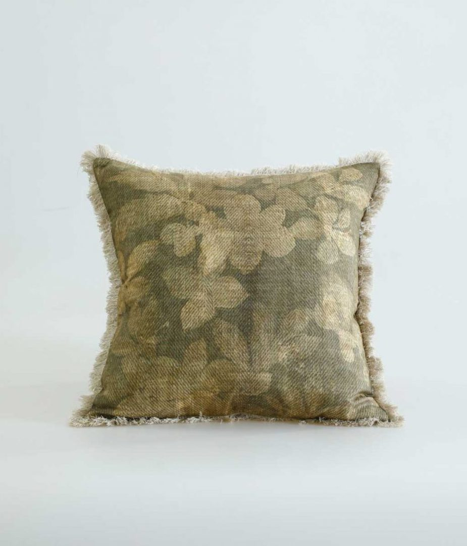 MM Linen - Avita Cushion - Dijon image 0