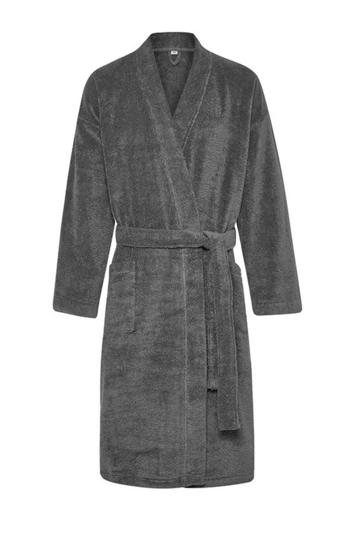 Sheridan - Quick Dry Luxury Unisex Robe - Graphite image 0