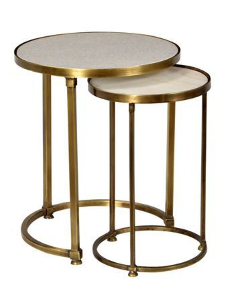 French Country - Round Nesting Tables image 0