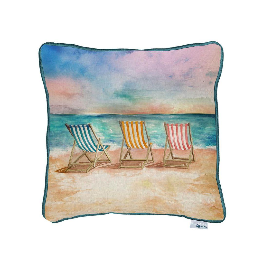 Importico -Voyage Maison - Deck Chair Sunrise Cushion image 0