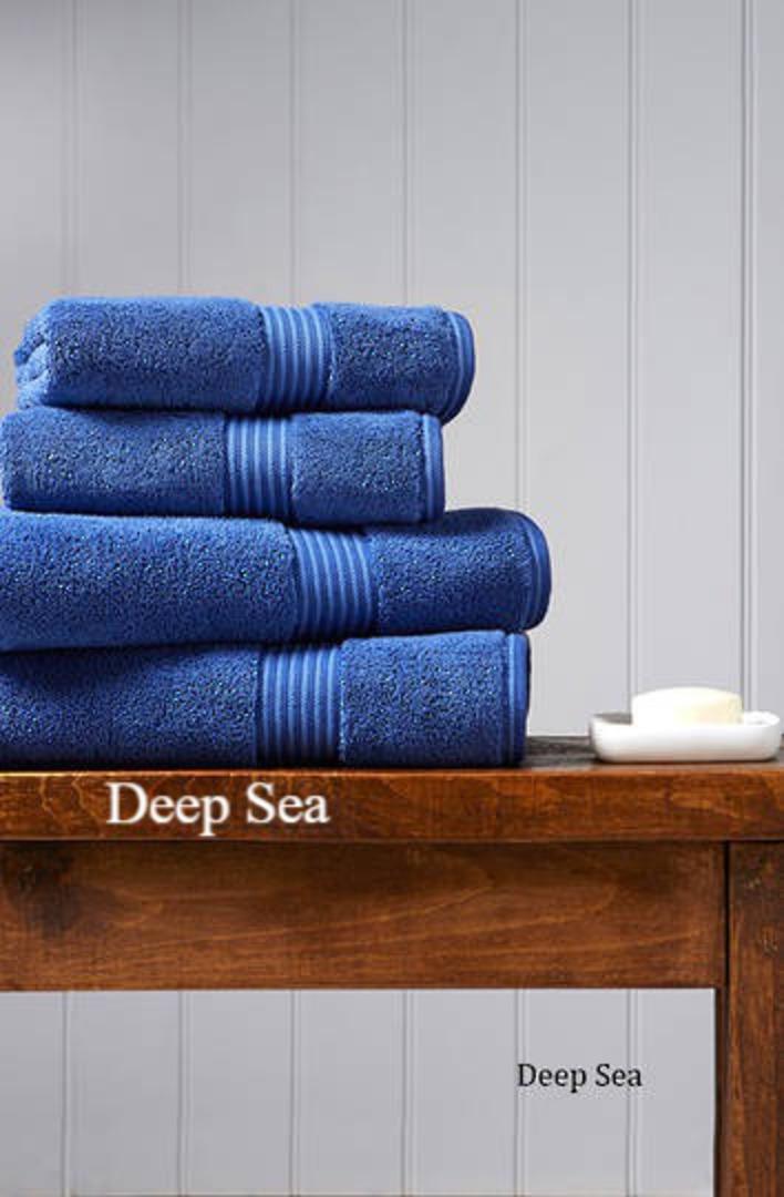 Seneca - Christy Supreme Hygro Towels, Hand Towels & Face Cloths - Deep Sea image 0