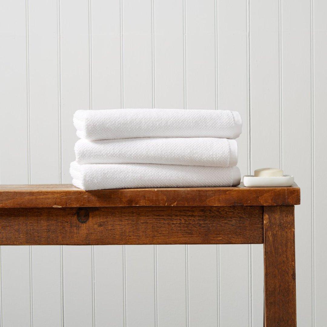 Seneca - Christy Brixton Towels, Hand Towels, Bath Mats - White image 0