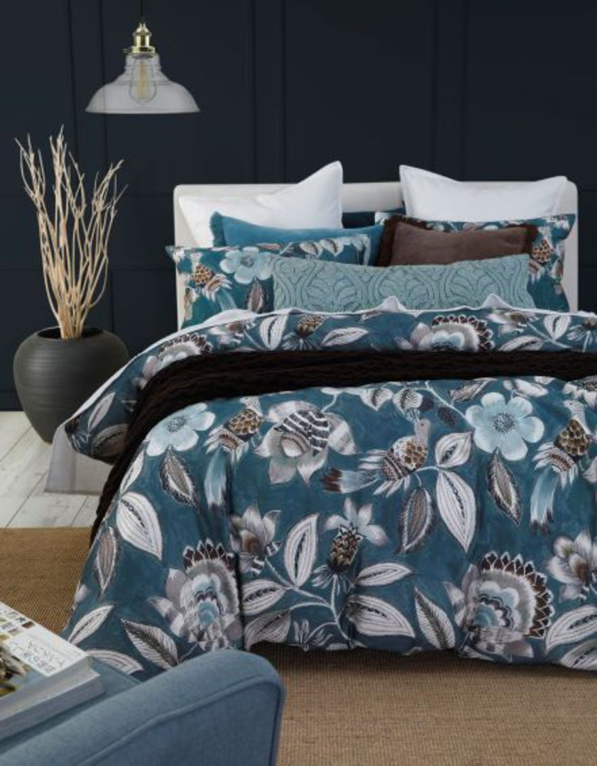MM Linen - Lark Duvet Set - Teal image 1