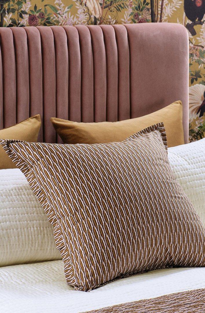 Bianca Lorenne - Kumo - Coverlet/Eurocase/Pillowcase - Rose Gold image 2