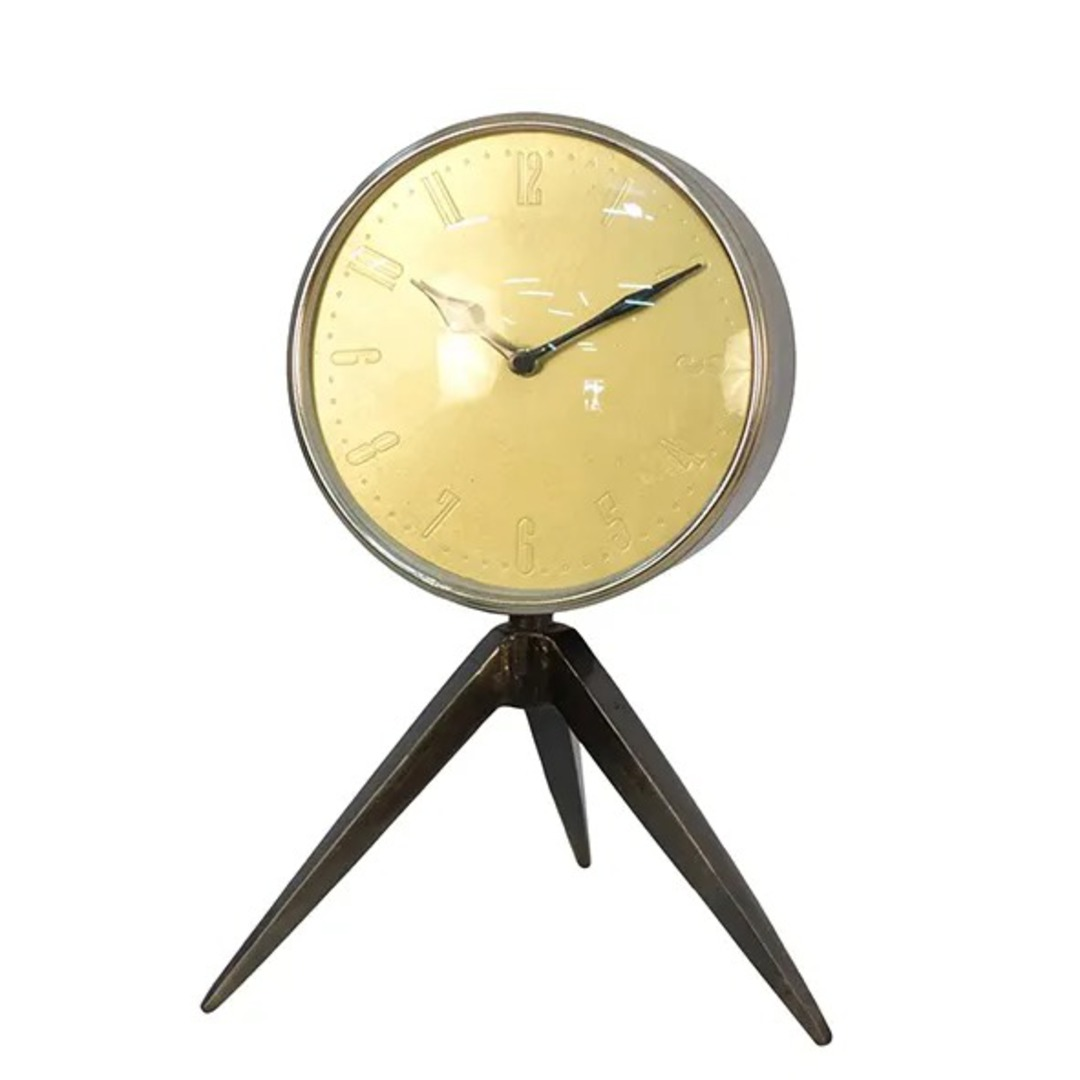 French Country - Tripod Clock image 0