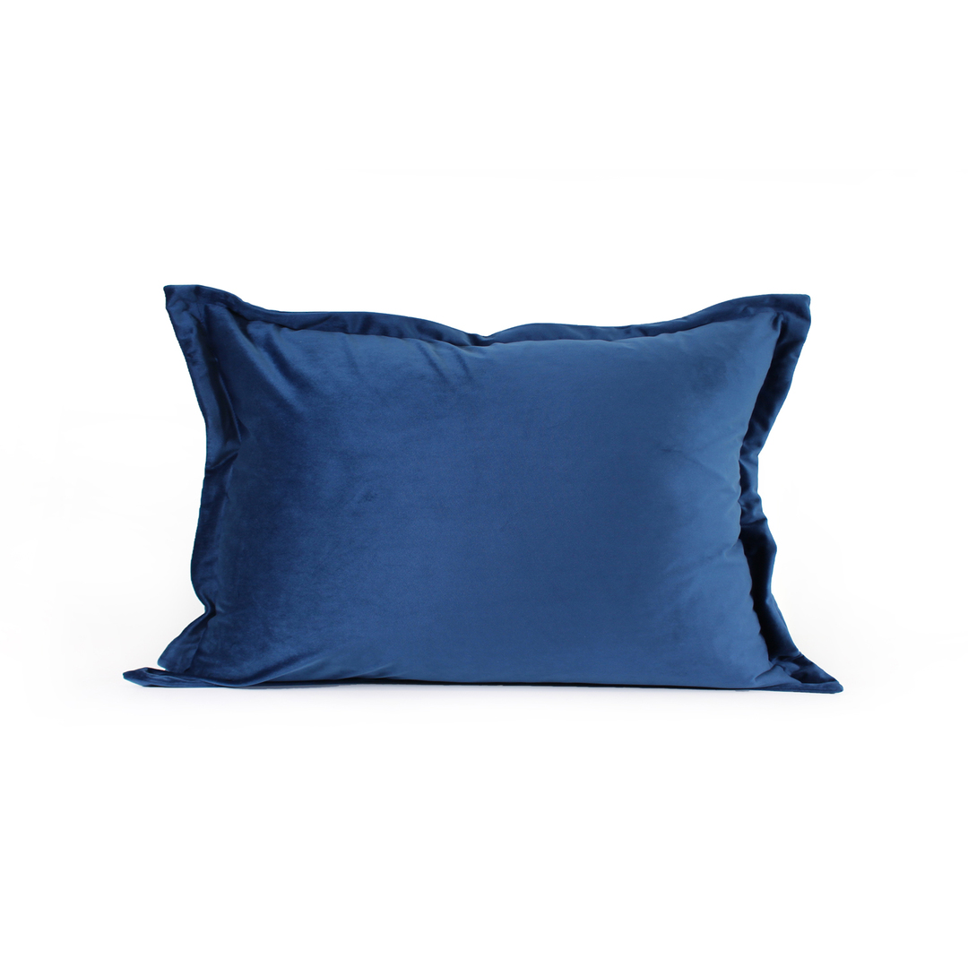 NZ Merchants - Edens - Savoy Cushion - Dusky Blue image 1