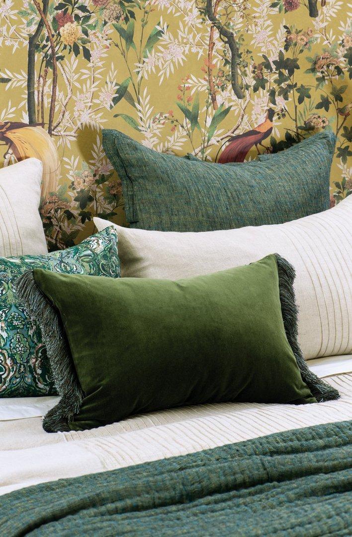 Bianca Lorenne - Tramonto - Comforter/Eurocase/Cushion - Green image 3