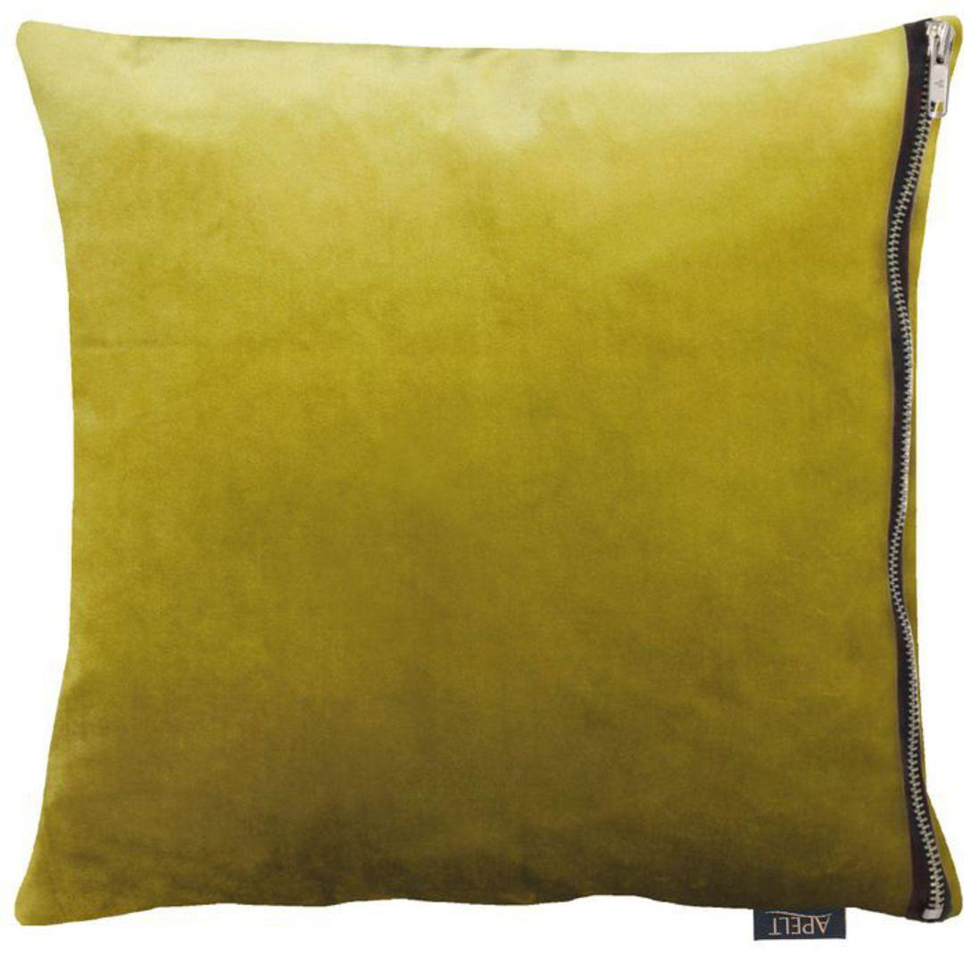 Importico - Apelt - Tassilo Velvet Cushion - Chartreuse image 0