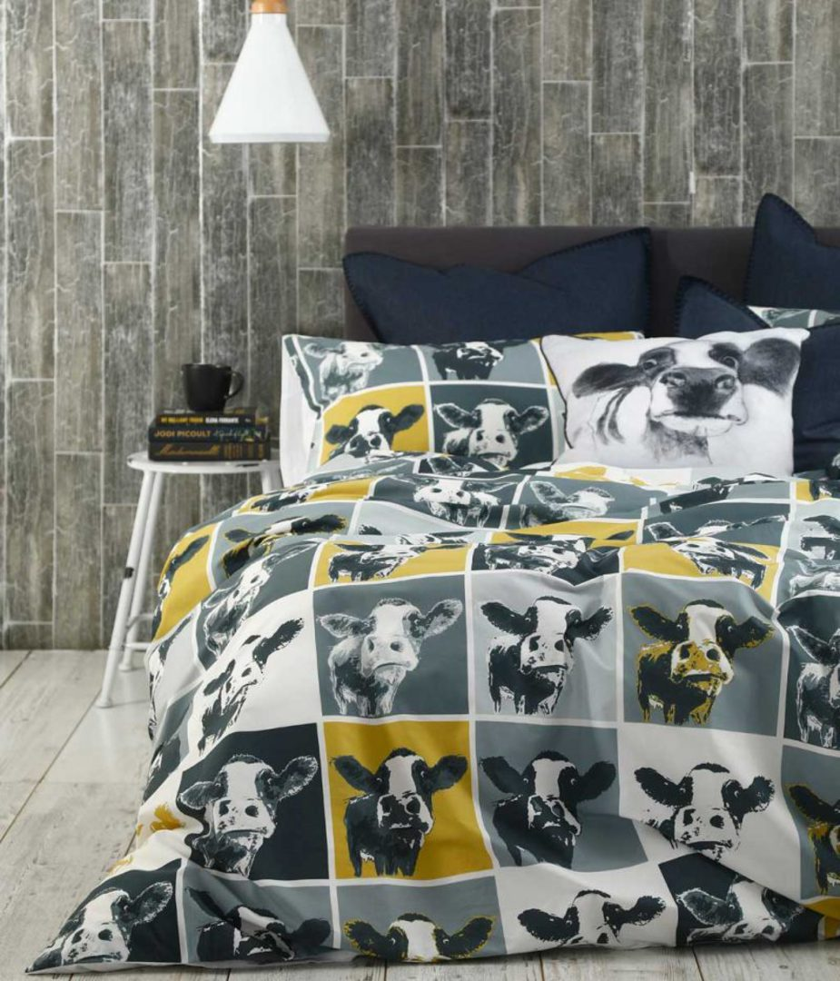 MM Linen - Moo Duvet Set image 1