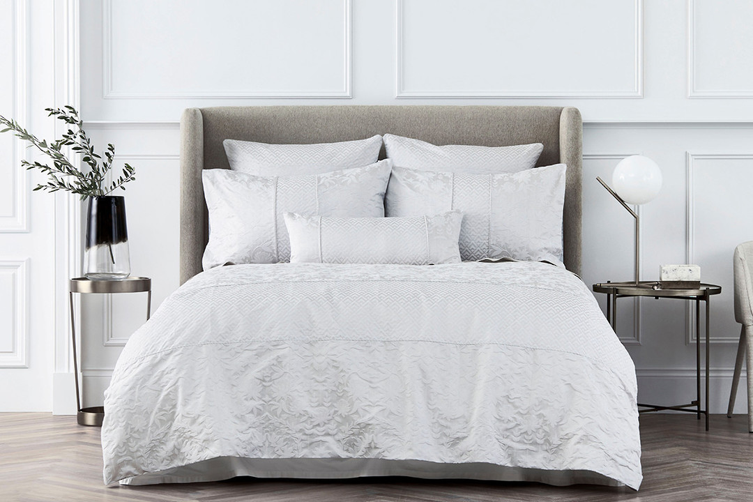 Sheridan - Stedwell Duvet Cover Set - Cloud Grey image 0