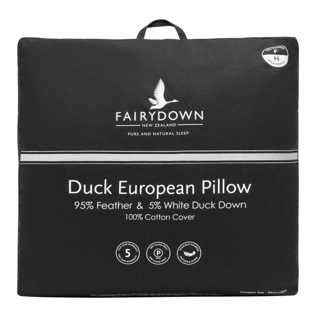 Fairydown - Duck Euro Pillow 95/5 image 0