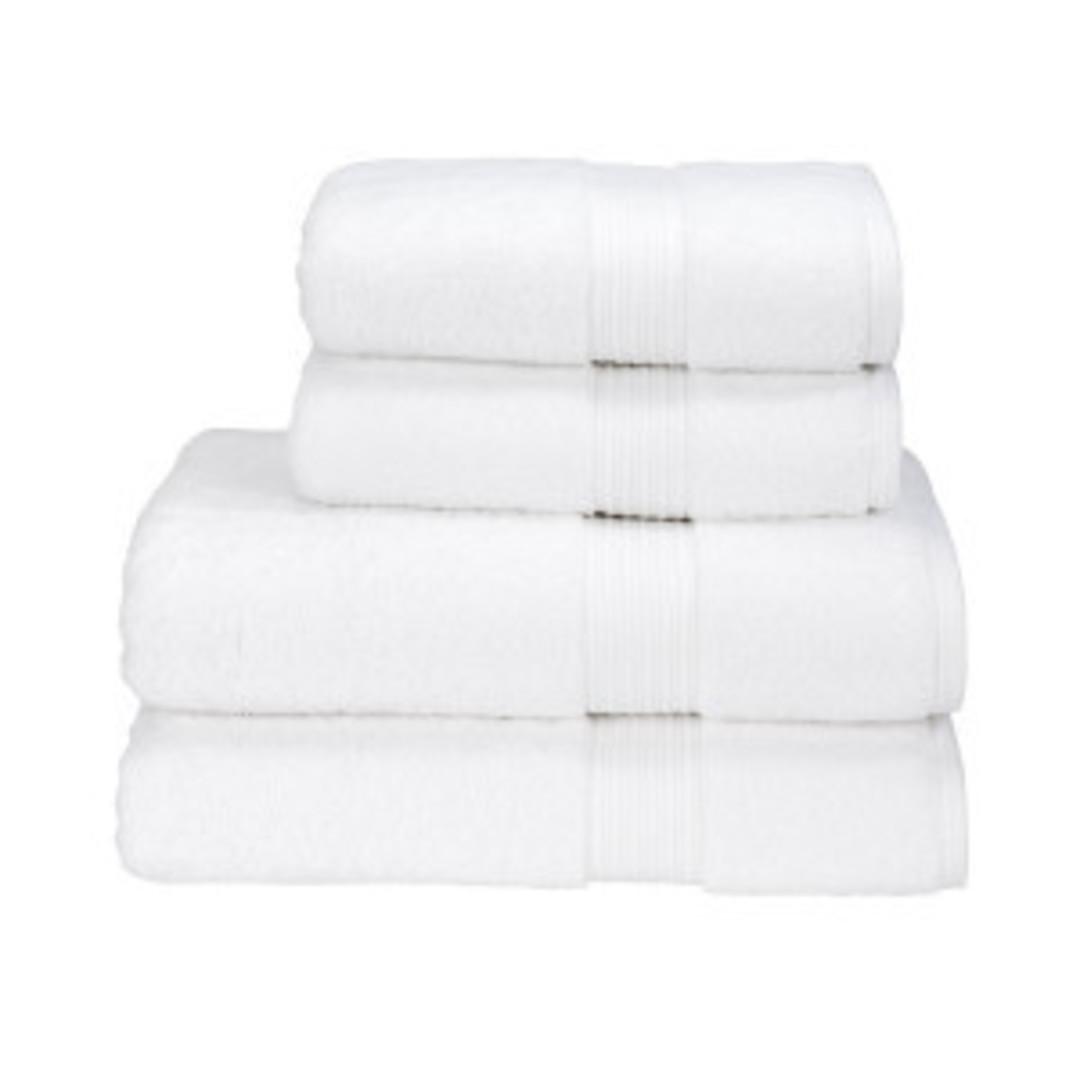 Seneca - Christy Supreme Hygro Towels, Hand Towels & Face Cloths - White image 0