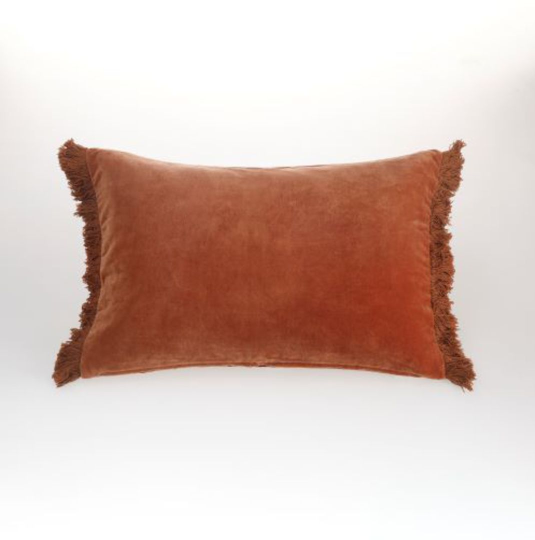 MM Linen - Sabel Cushions - Umber image 1