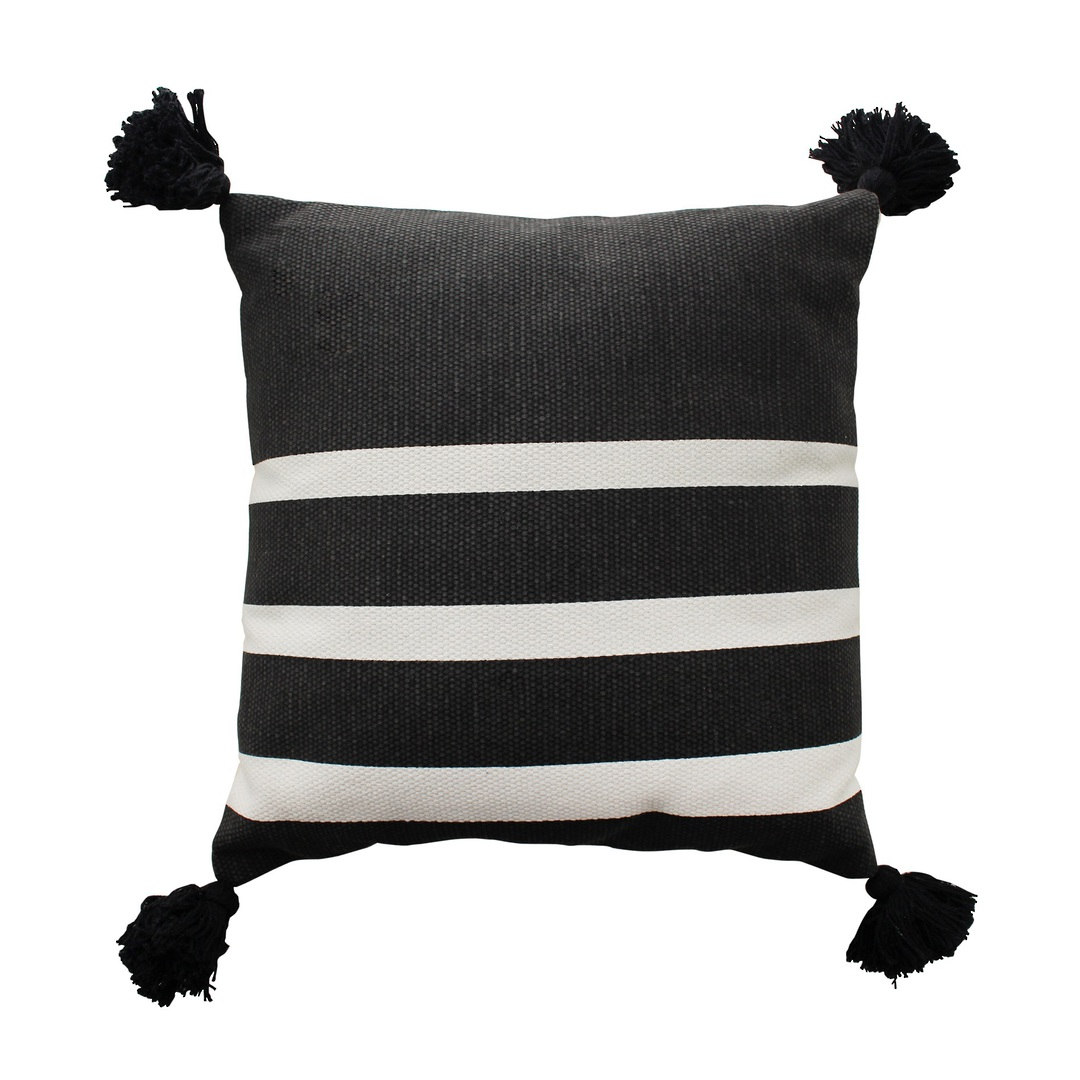 NZ Merchants -  Avalon Cushion - Black image 0
