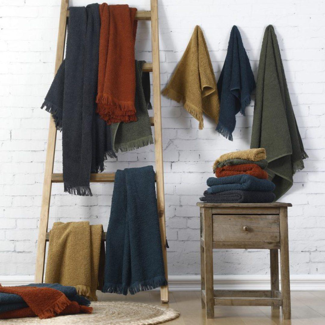MM Linen - Tusca Towels - Onyx image 2