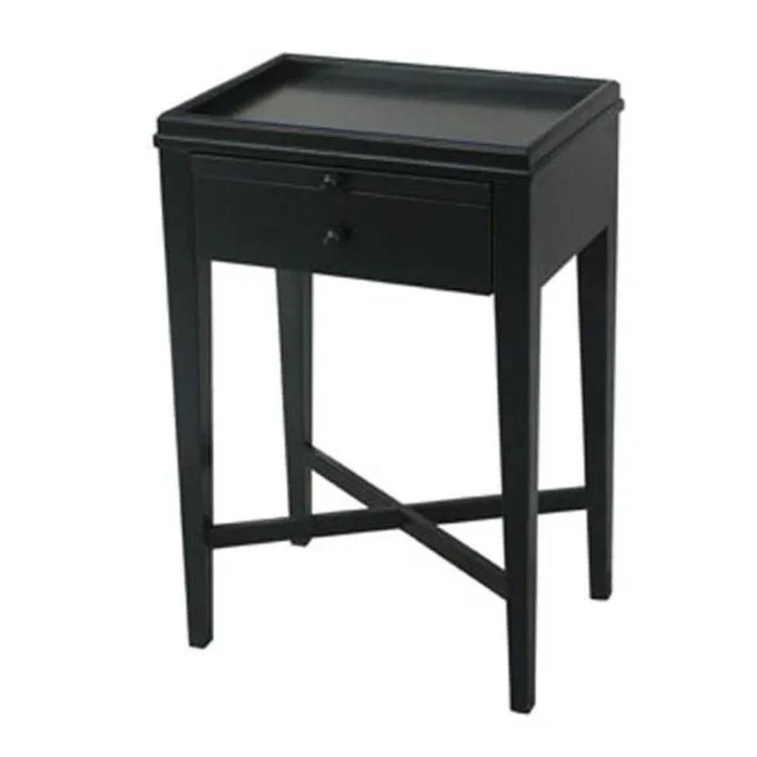 French Country - Saskia Table - Black image 0