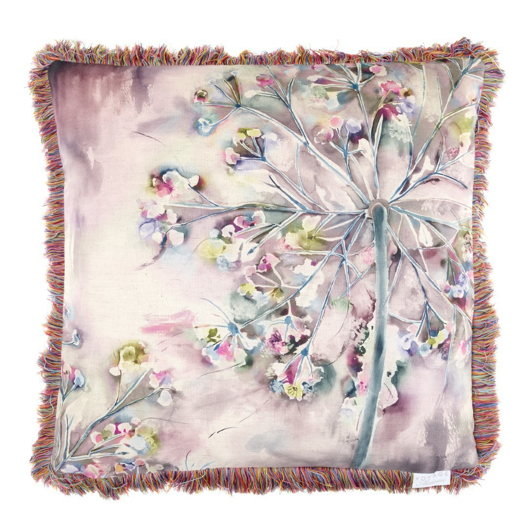 Voyage Maison - Country Blooms - Winchcombe Cushion - Fig image 0