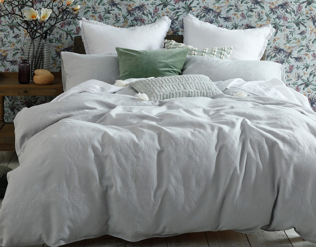 MM Linen - Aviana Duvet Set - Dew image 0