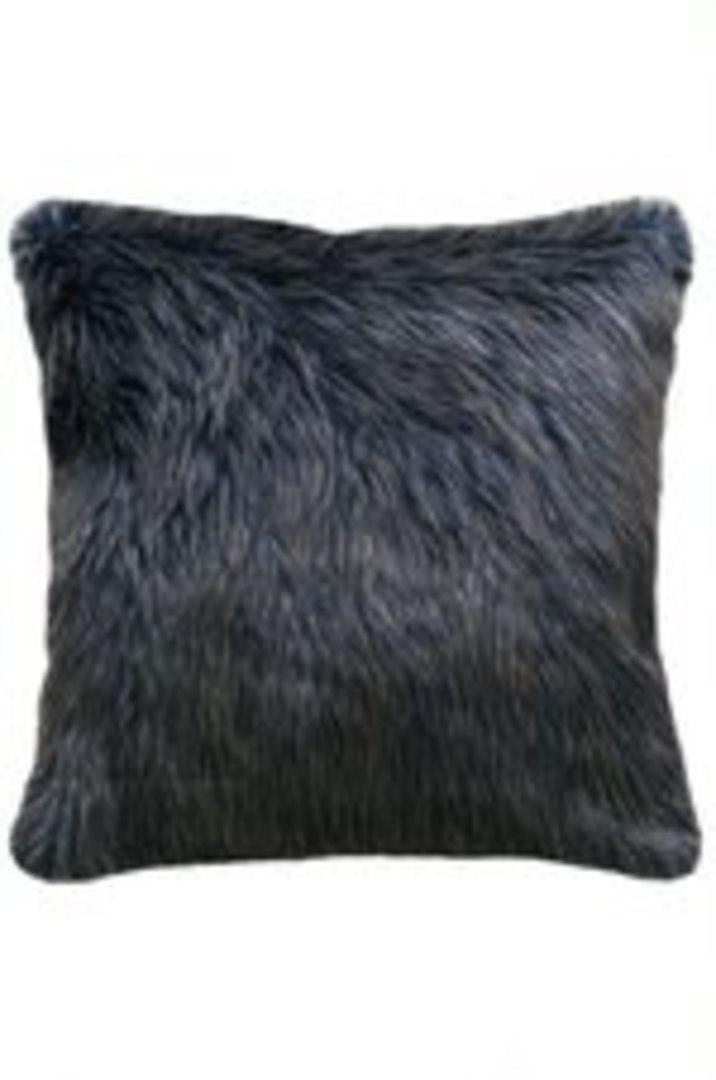 Heirloom Exotic Faux Fur - Cushion / Throw  - Dark Pheasant image 2