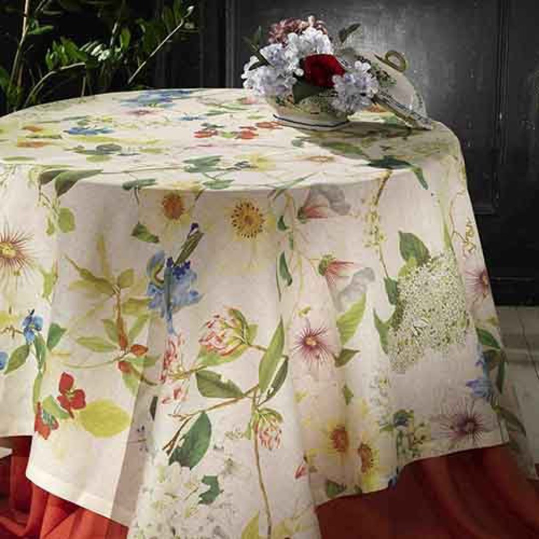 Importico - Tessitura Toscana Telerie - Ibisco Linen Table Cloths image 0