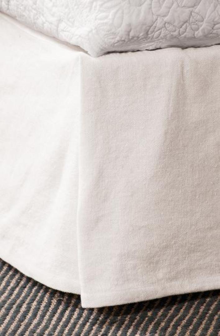 Bianca Lorenne - White Linen Valances image 0