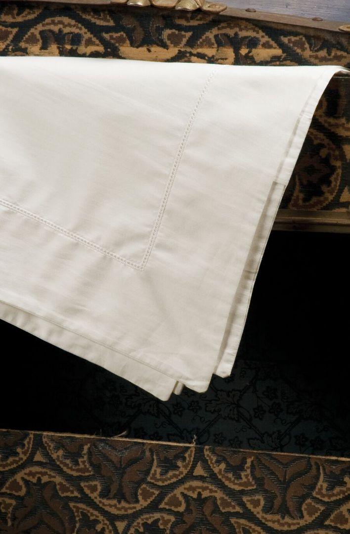 Bianca Lorenne - Ajour Sheets / Pillowcase Oxford - Ivory image 0